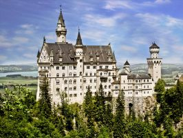 Neuschwanstein Castle by baz300388