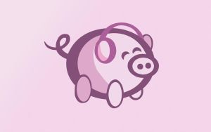 OiNK Piggy Set: 1680x1050 by OiNKmemorial