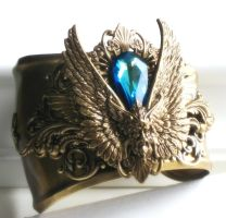 Air Elemental Cuff by JuleeMClark