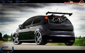 Fiat Punto Dark-Sound by cjdesigner