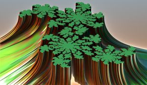 green fractal earth by Andrea1981G