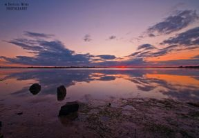 Barwon Heads River Sunset by DanielleMiner