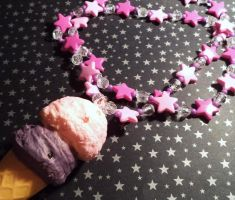 Sweet starry double scoop delight by Lutrasaura