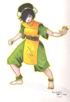 Toph by Minuite