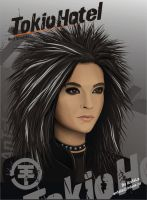 Bill Kaulitz by tatiana-larina