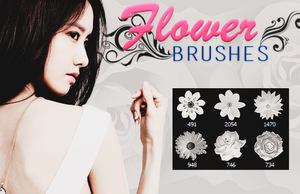 +Brush | Flowers. by ItsBlossom