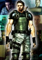 Chris Redfield moment by Elenakillingzombies