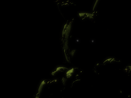 Springtrap twitching from the main menu. by TheRobloxFan1337