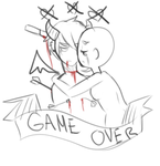 Game Over Ronny by RatyGlob
