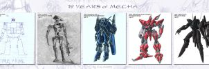 19 Years of Mecha by CGVickers