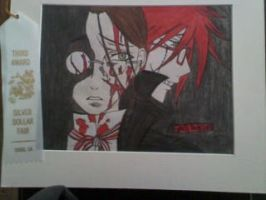 grell sutcliff by bloodyose1993