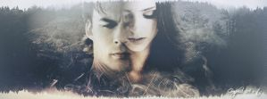 Damon e Katherine Timeline Facebook by StefinaGraphicART