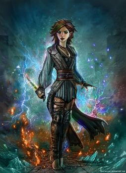 Chaotic Sorcery by SirTiefling