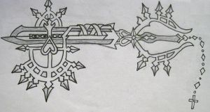 Servant Keyblade by Chain-Of-Ashes