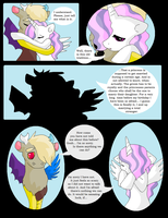 Discord X Celestia comic - Page 17 by VanillaMelodyPegasus