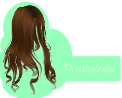 [MMD] LONG HAIR [+DL] by Sims3Ripper