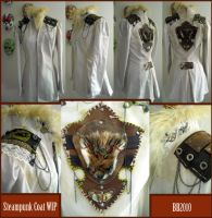 Steampunk Coat WIP by Magpieb0nes