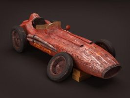 old racing car by hesamsaken