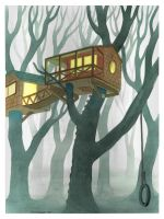 Treehouses by fenix42