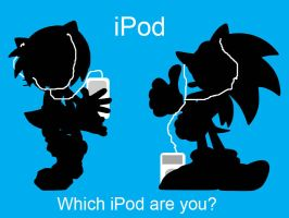 Sonic ipod ad by Shadow86SK