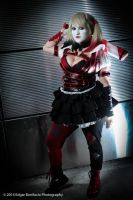 Arkham Knight Harley Quinn by TheAwkwardStarfish