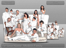 Modern Family Tv Serie Folder Icon by atty12