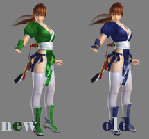 dead or alive kasumi outfit edit by deangagaTR