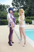 Panty and Stocking by ricecake000