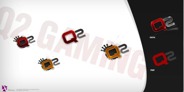 Q2 Gaming Logo by Dominikschulte