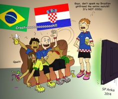 World Cup 2014 Opening Match by AnkaSP