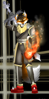 Mace of Fire and Sword by Starwolf-ftw