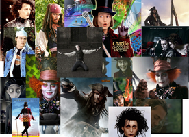 The Many Faces Of Johnny Depp by JackyCooper
