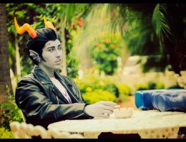 Homestuck: Cronus Ampora Cosplay 2 by SNTP