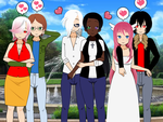 Triple Date by AfricanSunrise101