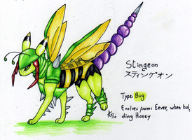 Stingeon -Fake Eeveelution by ARVEN92
