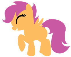 Minimal Scootaloo by CitrusSqueeze
