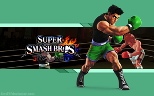 Little Mac Wallpaper - Super Smash Bros. Wii U/3DS by AlexTHF