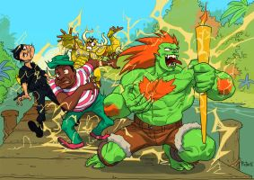 Blanka Won by pietro-ant