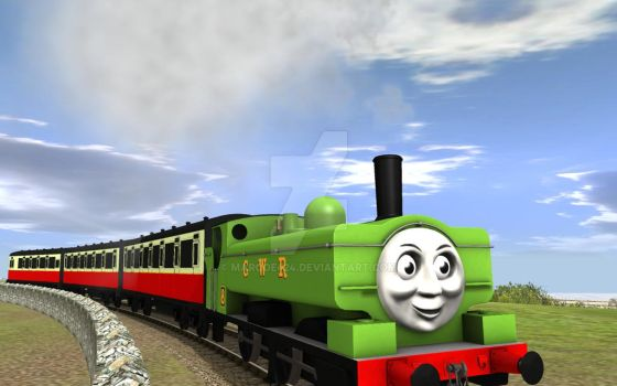 Duck and The Slip Coaches in Season 3 by MarcoE424