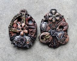 Steampunk Charms 3 by tanren
