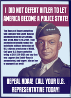 You Can Repeal NDAA This Week! by poasterchild