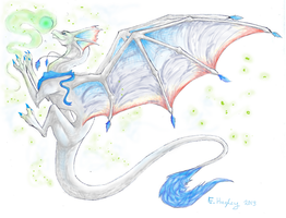 Request: Dragon Fursona by EndlessShower