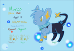Marco the Shinx - P.F. by FireflyYoshi