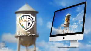 Warner Bros. Water Tower - Wallpaper by GavinAsh
