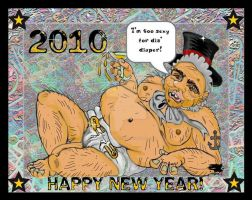 Uhhhh...the Baby New Year? by SCT-GRAPHICS