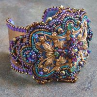Gypsy Filigree Cuff by Beadmask