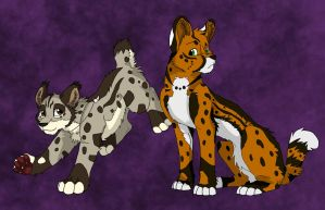 Serval Gift Art by Firewolf-Anime