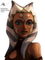 Ahsoka Tano Digital Painting  :3 by ChooseCheese127