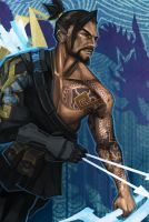 Hanzo by h1fey