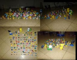 Pokemon collection by V-a-p-o-r-e-o-n